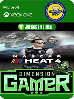 Nascar Heat 4 - Xbox One - Modo Local