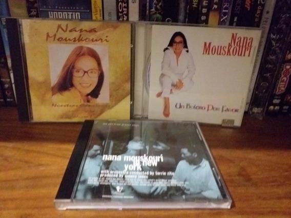 Lote 3 Cd Nana Mouskouri Live New York Un Bolero Por Favor