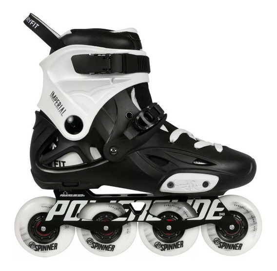 Patín Roller Powerslide Imperial One Black Profesional