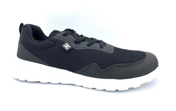 Tênis Dc Shoes Hartferd Preto Black/white Lançamento
