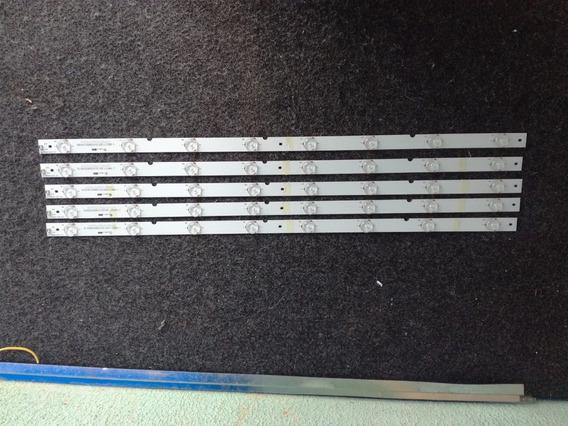 Kit 5 Barra Led Tv Panasonic Tc-32as600b * Gj-315-d508-v5 V6
