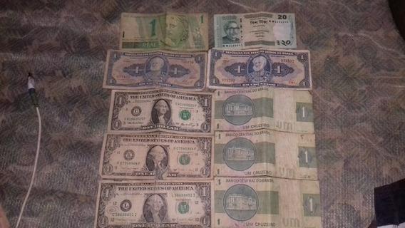Notas Antigas Obs:cruzeiro Dólar