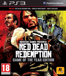 Red Dead Redemption Edicion Juego Del Año Ps3 Digital