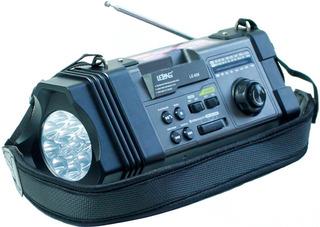 Caixa De Som Retro Mp3 Mp4 Bivolt Rádio Fm Portátil Lanterna