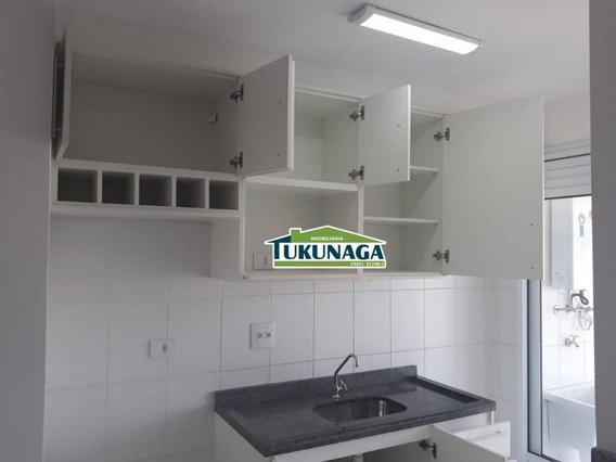 Apartamento Com 2 Dormitórios Para Alugar, 65 M² Por R$ 1.300,00/mês - Vila Rosália - Guarulhos/sp - Ap1990
