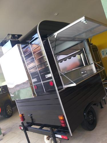 Trailer Food Truck Pronta Entrega  P/ Churrasco / Espetinhos