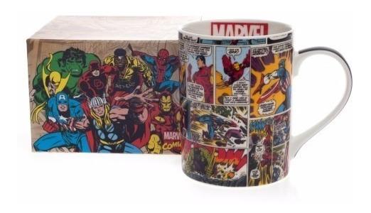 Caneca Comics Hq Color Marvel 460ml