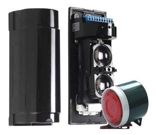 Sensor Barrera + Mini Sirena 3.5m 8v A 12v 120 Db