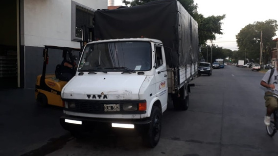 Camion Tata 609 Caja De Carga 8 Pallet