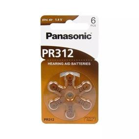 Bateria Auditiva Pr312h - Panasonic (cartela C/ 6 Unid.)
