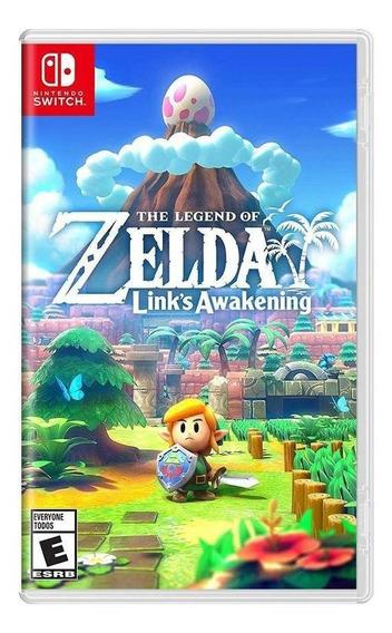 The Legend Of Zelda Links Awakening Switch Mídia Física Novo