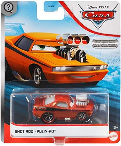 Carro De Juguete, Color Rojo, Pixar Cars