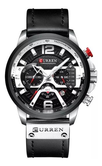 Relógio Masculino Original Curren 8329 Esportivo Luxo
