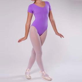 5d1389dc45 Collant Ballet Balé Infantil Manga Curta Body Cores 02 Ao 06