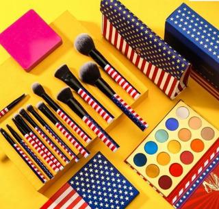 Brochas Docolor Originales + Cosmetiquera Y Paleta