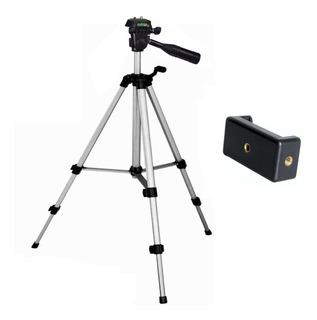 Trípode Cámara Mod. Bst-3110 102cm + Estuche + Clip Celular