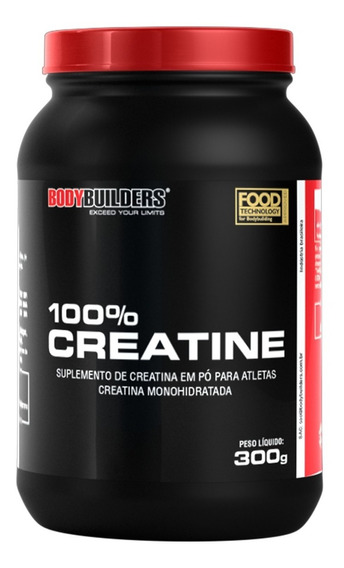 100% Creatina 300g Bodybuilders