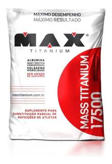 Hipercalórico Mass Titanium / Massa 3kg - Max Titanium