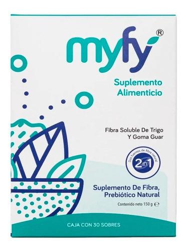 Imagen 1 de 8 de Fibra Vegana Soluble Myfy Digestión Probióticos Prebióticos