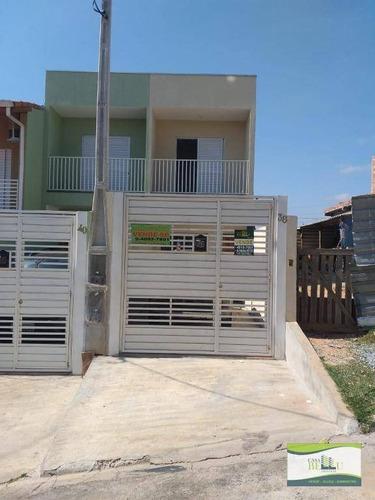 Casa Com 2 Dormitórios À Venda, 80 M² Por R$ 260.000,00 - Portal Das Alamedas - Franco Da Rocha/sp - Ca0538