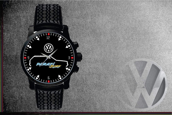 Relógio De Pulso Personalizado Vw Parati Surf 1995 Quadrada