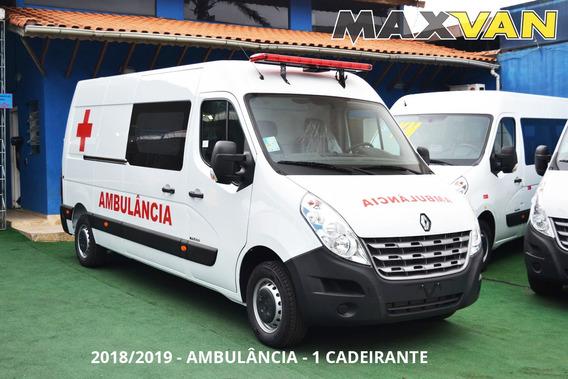 Renault Master L3h2 | Ambulancia Uti | Maxvan