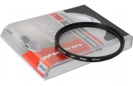 Filtro Uv Greika 67mm Proteção De Lente Resistente Impacto