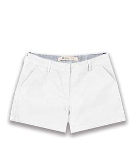 Shorts Short Feminino Sarja Branco 42 Ao 46 Hering Original