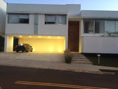 Sobrado Com 4 Dormitórios À Venda, 520 M² Por R$ 2.500.000,00 - Condomínio Village Sunset - Sorocaba/sp - So0112 - 67640779