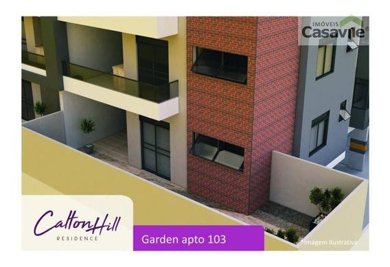 Apartamento Garden Com 3 Dormitórios À Venda, 104 M² - Silveira Da Motta - São José Dos Pinhais/pr - Ap0417