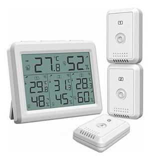 Oria Termometro Digital Con Higrometro Termometro Interior M