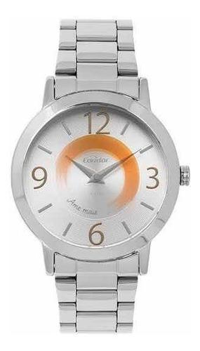 Relógio Condor Feminino Prateado
