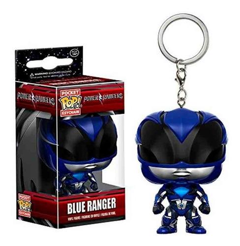 Funko Pop Keychain Power Rangers Blue Ranger