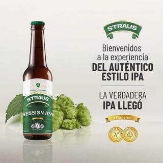 Cerveza Sin Tacc Apta Celiacos Straus Ipa 330ml En Urquiza