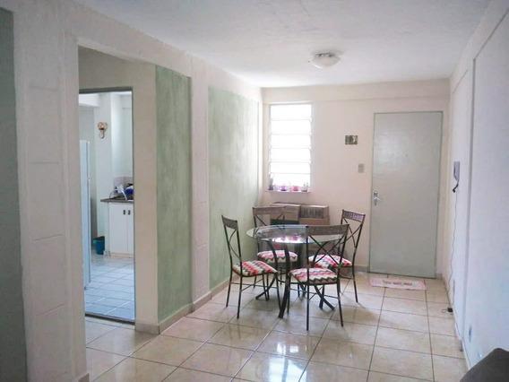Apartamento Em Vila Virgínia, Ribeirão Preto/sp De 55m² 2 Quartos À Venda Por R$ 130.000,00 - Ap351811