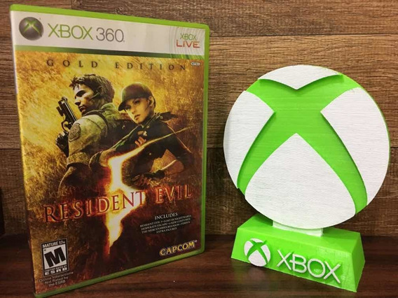 Resident Evil 5 Gold Edition Xbox 360 Original Mídia Física