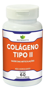 Colágeno Tipo 2 - Puro (6 Potes) Nutrivitty