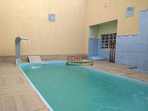 Imagem 1 de 28 de Sobrado Com 3 Dormitórios À Venda, 297 M² Por R$ 690.000,00 - Campos Elíseos - Taubaté/sp - So2330