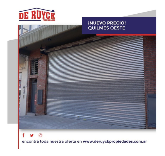 Local En Alquiler A Estrenar, Quilmes