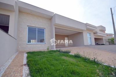 Casa Com Piscina, Com 3 Dormitórios À Venda, 150 M² - Condomínio Real Park - Sumaré/sp - Ca1964