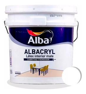 Albacryl Pintura Interior Blanco 20 Lts. Alba - Iacono