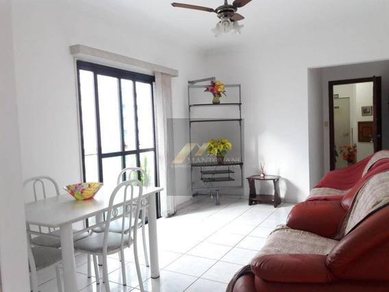 Apartamento Com 02 Dormitórios Sendo 01 Suíte, Bairro Guilhermina, Praia Grande/sp - Ap1540