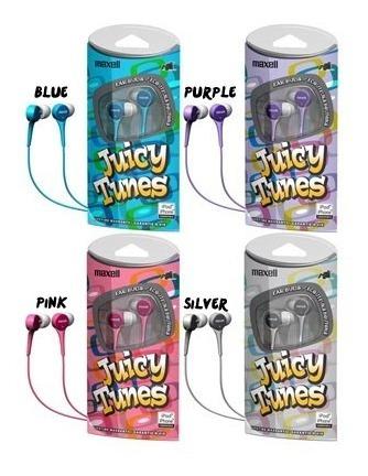 Audifonos Juicy Tunes Maxell Originales Jt