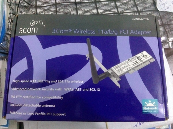 Kit 12 Placa De Rede Wireless Wifi 3com 3055 108mbps !!!!