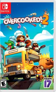 Overcooked 2 Nintendo Switch Nuevo (en D3 Gamers)
