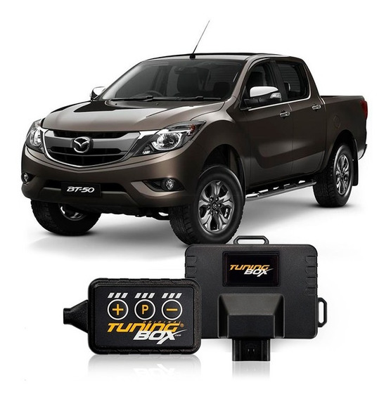 Kit Tuningbox +potencia +aceleración Mazda Bt50 Pro Diesel