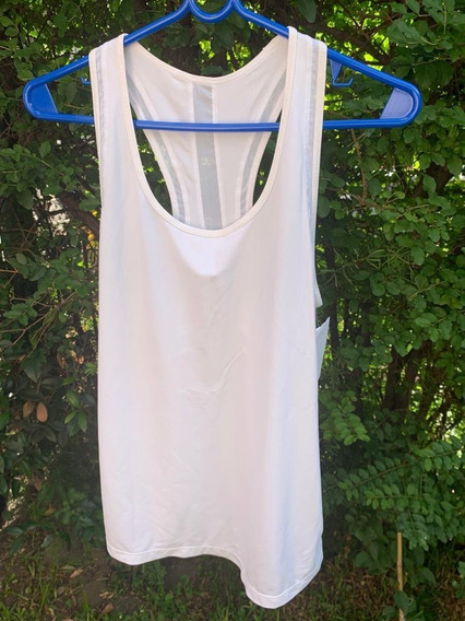 Musculosa Deportiva Mujer Gap Talle S Blanca