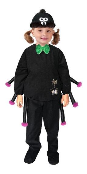 Disfraz Araña Niño Halloween Bebé Monstruo Niña Hot Toystudi