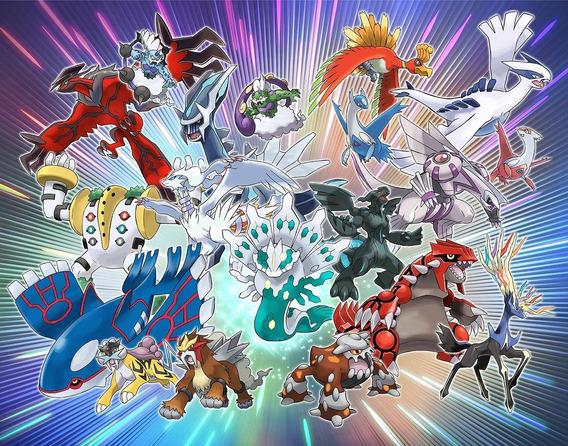 19 Pokémon Do Evento Ano Lendário 2018 E + 1 - N3ds