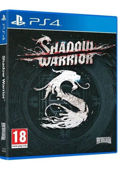 Shadow Warrior Seminovo! Loja Campinas! Sem Juros!
